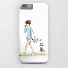 The boy and a cat Slim Case iPhone 6s