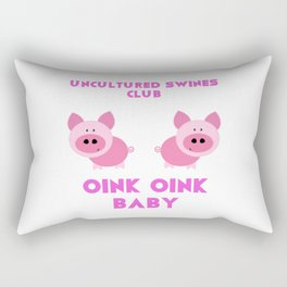 Uncultured Swines Club Rectangular Pillow