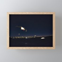 Night Travelers Framed Mini Art Print
