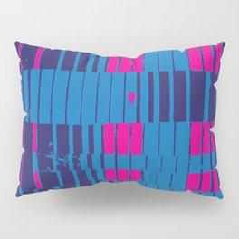 PinkBlue Stripes Pillow Sham