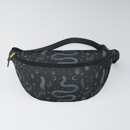 Mystical Collection-Black Fanny Pack