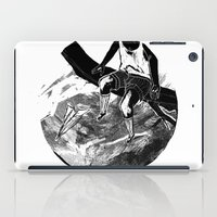 planes iPad Cases featuring paper planes by Rzuud