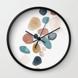 River Rocks II Wall Clock