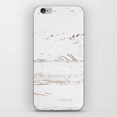 Vintage White Wood iPhone & iPod Skin