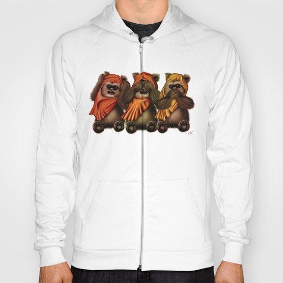 STAR WARS The Three Wise Ewoks Hoody