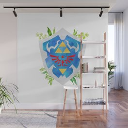 One Shield to Hyrule Them All Wall Mural
