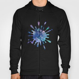 Abstract Alcohol Ink Painting 2 Hoody