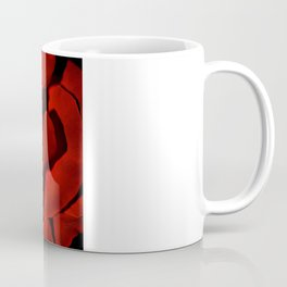 Red rose close up Coffee Mug