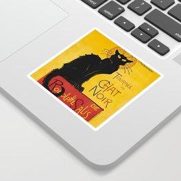 Tournée du Chat noir Sticker