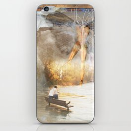 The Sacred and the Mundane iPhone Skin