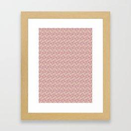 Geometric Pattern #007 Framed Art Print