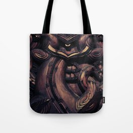 NEW ZEALAND CARVING Tote Bag