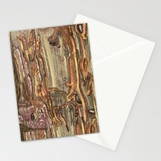 Worm Eaten Wood Stationery Cards