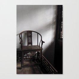 Antique Chair Canvas Print