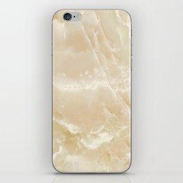 White Onyx iPhone Skin
