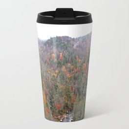 Fall Forest, Vertical Travel Mug