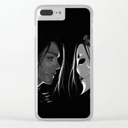 Vax and the Raven Queen Clear iPhone Case