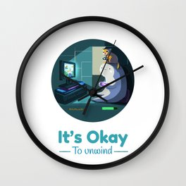 It's Okay to Unwind Wall Clock