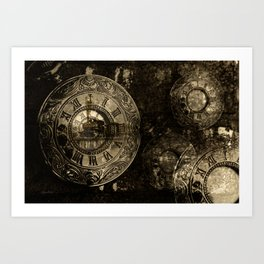 Time for the Train Art Print