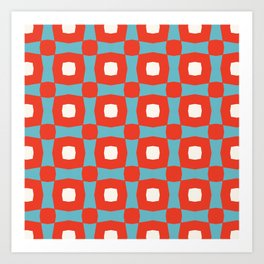 Rosinga Pattern Art Print
