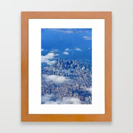 Tiny Manhattan Framed Art Print