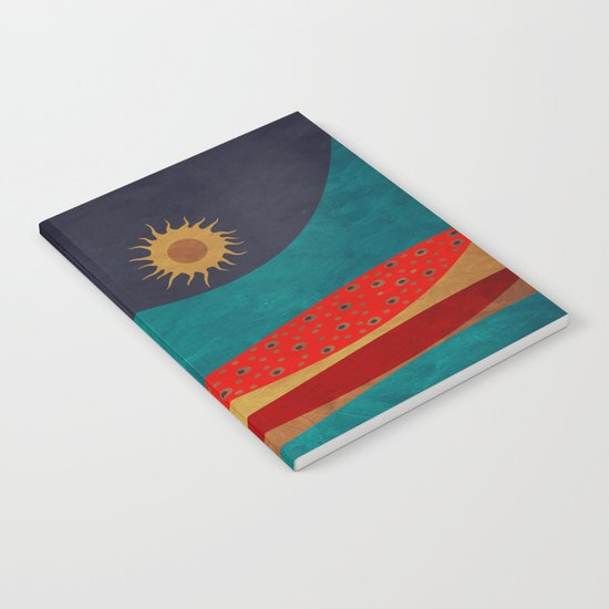 color under the sun Notebook