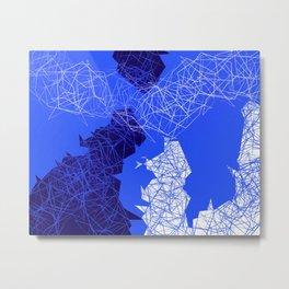 Geometric Movements Metal Print