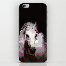White Arabian iPhone Skin
