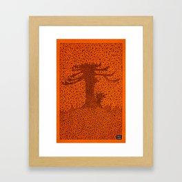 TR2 Araucaria Framed Art Print