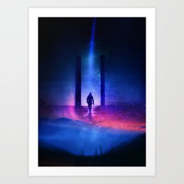 The End of Eternity Art Print
