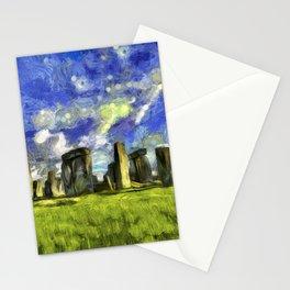 Stonehenge Vincent Van Gogh Stationery Cards