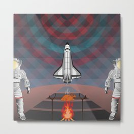 Space Tourism  Metal Print