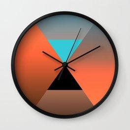 Triangle 4 Wall Clock