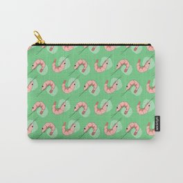 The Happy Prawn - Green Carry-All Pouch