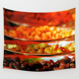 Olives Wall Tapestry