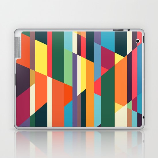 The hills run to infinity Laptop & iPad Skin