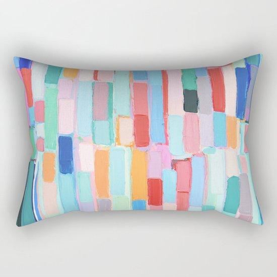 Internodal Path Rectangular Pillow