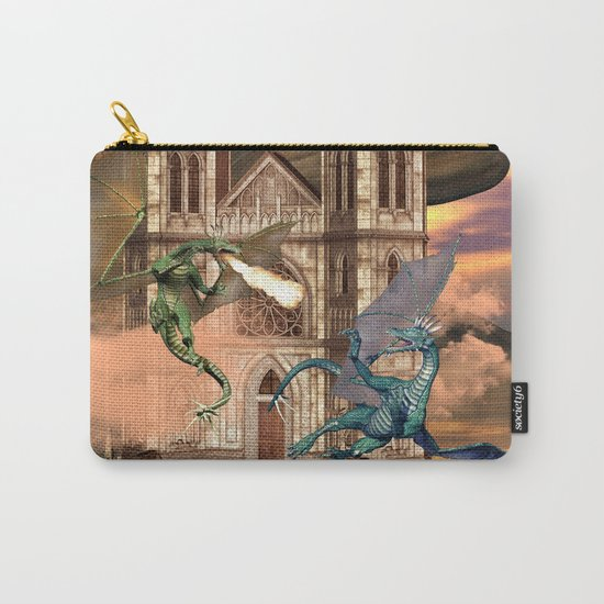The dragon fight Carry-All Pouch
