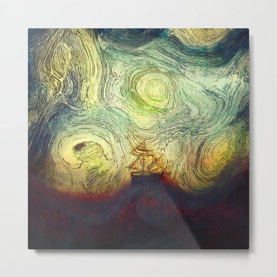 Starry sailing Metal Print