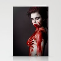 sin city Stationery Cards featuring Sin City 10 by Kobaru