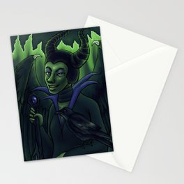 Queen of Crowns Stationery Cards
