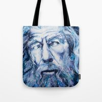 courage Tote Bags featuring Courage by Maria Bruggeman
