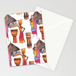 Wild Africa #6 Stationery Cards