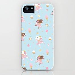 Sugar Plum Fairies Pattern iPhone Case