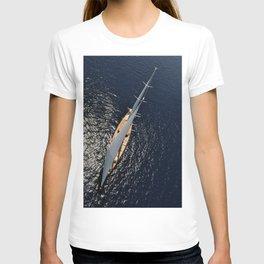 big sailing yacht T-shirt