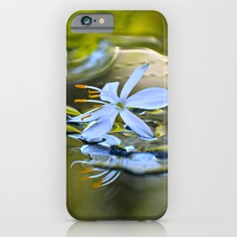 Innocence Tiny Flower of Spider plant iPhone Case