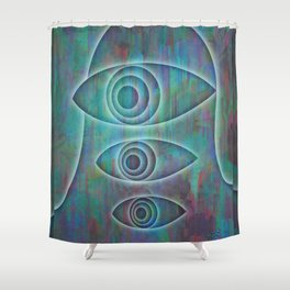 Gazer Two Shower Curtain