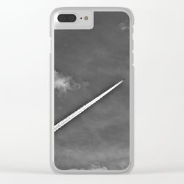 Contrails Clear iPhone Case
