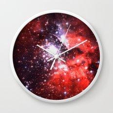 Lucky Stars Wall Clock