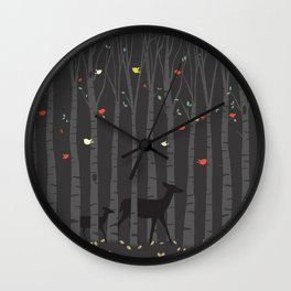 Peekaboo Wall Clock